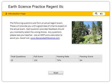 Regents Review Short Answer Skills Regents Earth Science
