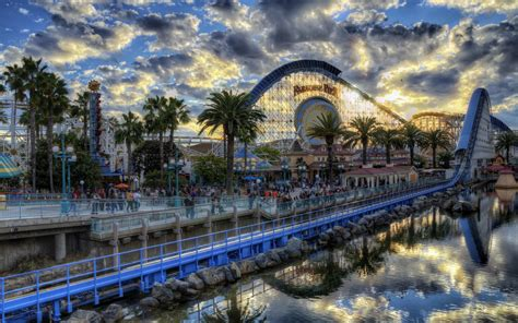 Theme Park Hd | amusement park full hd wallpaper and background image