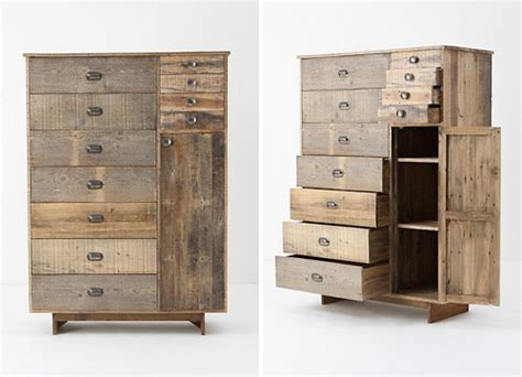 Anthro Furniture by For The Home Anthropologie Reclaimed And Distressed Wood Furniture