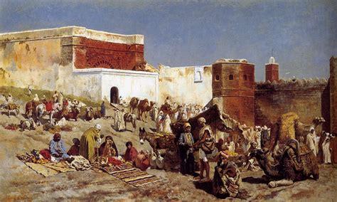 moroccan art history file weeks edwin moroccan market rabat jpg