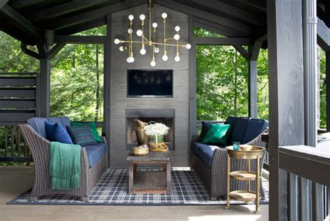 log cabin porch dreams decor pinterest spring trend alert amazing porches you must have this