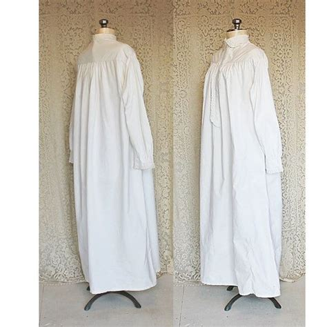 antique victorian nightgown late searly