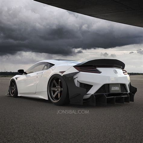 Acura Nsx Wide Kit by 2017 Acura Nsx Gets Carbon Exoskeleton Widebody Kit In
