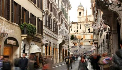 best shopping area rome italy shopping guide what and where to buy