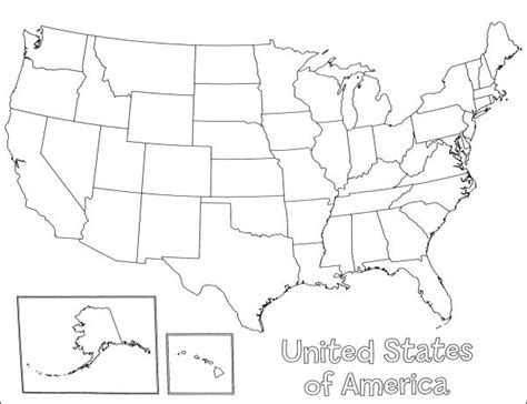just for fun u s map printable coloring pages keeping u s a map poster 033918 details rainbow resource