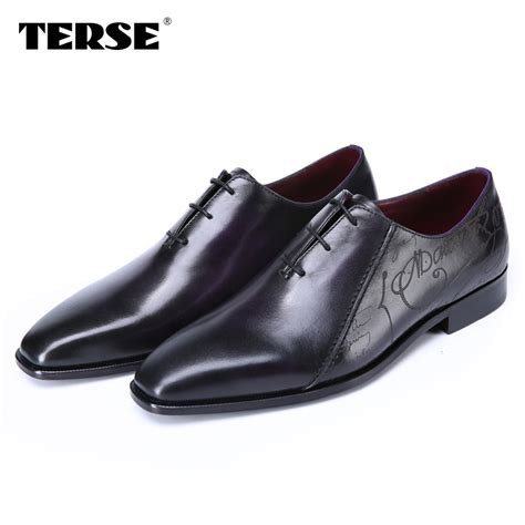 Handmade Footwear - buy terse leather shoes mens luxury handmade dress iron