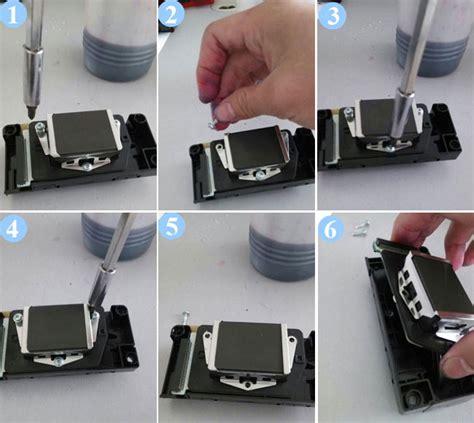 Wx3v 033 Blade Holder Cnc epson dx5 solvent printhead manifold adapter original ebay