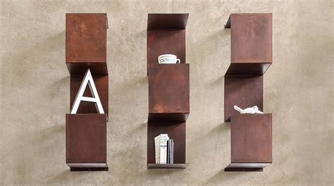 libreria parete design libreria design a parete in metallo segmento