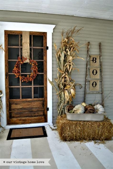 porch fall decorating ideas 27 best fall porch decorating ideas and designs for 2017