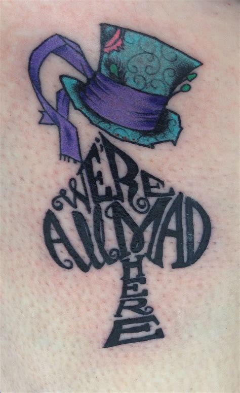 alice in wonderland small tattoos my new in