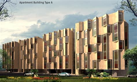 Types Of Apartment Buildings Information Technology Communication Complex Itcc