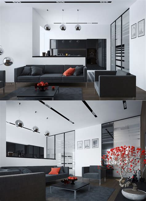 black and red home decor black and red living room decor ideas