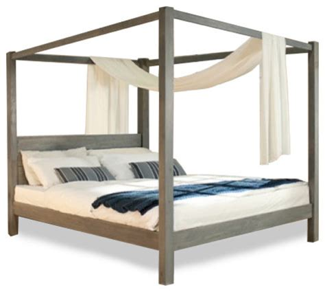 Timber Bed Frames Sydney Cube 4 Poster Timber Bed Contemporary Canopy Beds Sydney By Bedworks