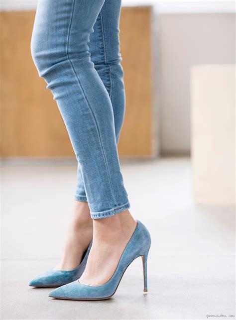 skinny jeans fashion shoes heels high heels