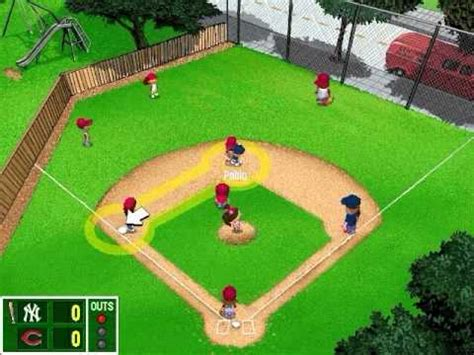 Play Backyard Baseball 2001 Backyard Baseball 2001 Demo Youtube