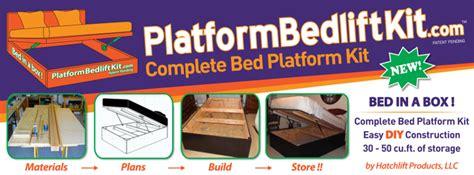 Platform Bed Lift Kit Platform Bed Lift Kits