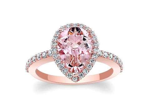 Pink Engagement Ring by Pink Engagement Rings You Ll