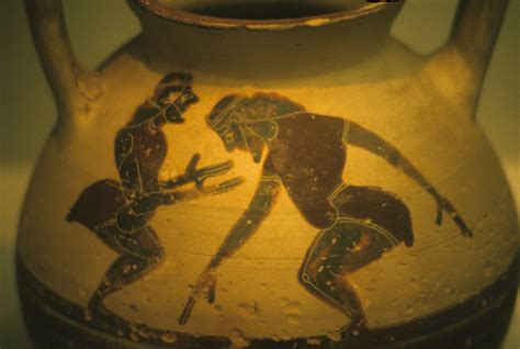 Classical Vase 308 Early Greek Comedy And Satyr Plays Classical Drama