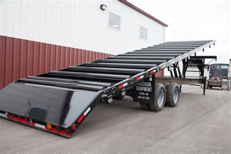 roller bed trailer truss trailers precision trailers precision equipment