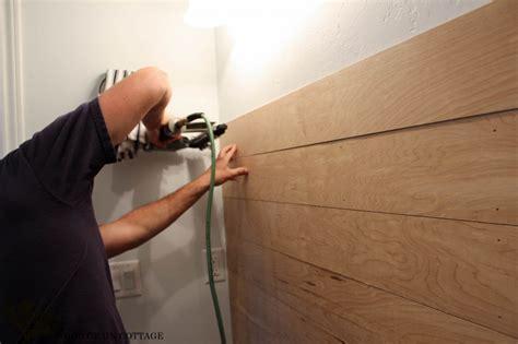 Painted Bathroom Vanity Ideas by Powder Bathroom Plank Walls Amp A Sneak Peak The Wood