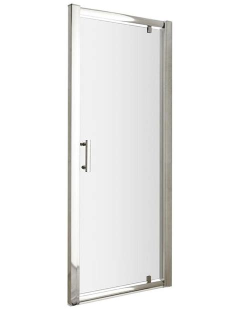 760mm Pivot Shower Door Beo Framed Pivot Shower Door 760mm