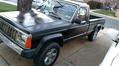 1986 jeep comanche black 1986 jeep comanche 2 5 4 215 4 5 speed for sale