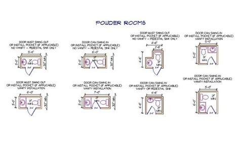 size of powder room powder room sizes revit powder rooms