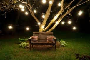 outdoor string lights patio
