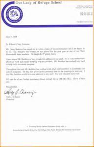 Student Teacher Reference Letter 10 Job Recommendation Letter For Student Ledger Paper