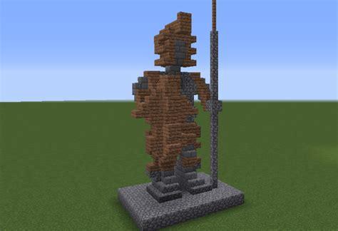 medieval spearman statue grabcraft  number