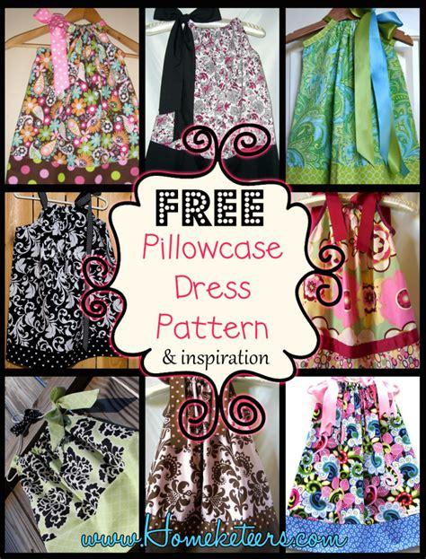 sunny flower pillowcase dress girl sewing pattern pdf pillowcase dress pattern free download www imgkid com