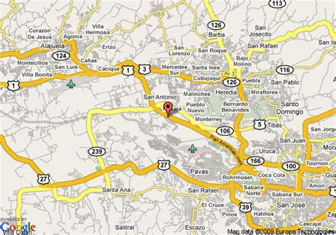 san jose tx map map of country inns suites by carlson san jose costa rica