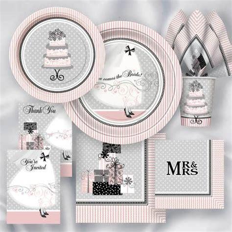 bridal shower plates napkins cups 99 wedding ideas