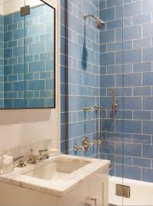 blue glass bathroom tiles design ideas