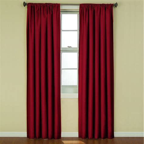 Pink Eclipse Curtains Upc 885308097163 Eclipse Kendall Blackout Window Curtain Panel 42 W X 84 L Curtain Ruby