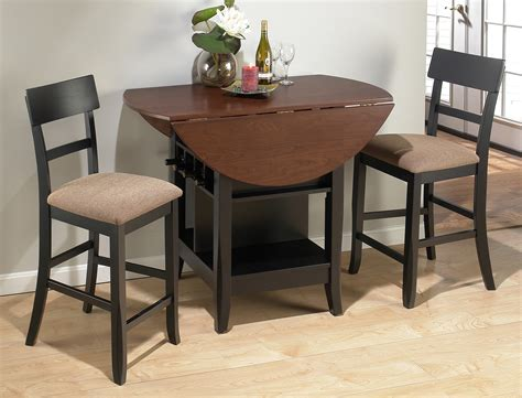 kitchen dinette sets breakfast drop leaf table with two