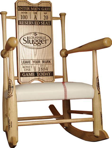 custom baseball bat bench original custom made genuine baseball bat rocking chairs