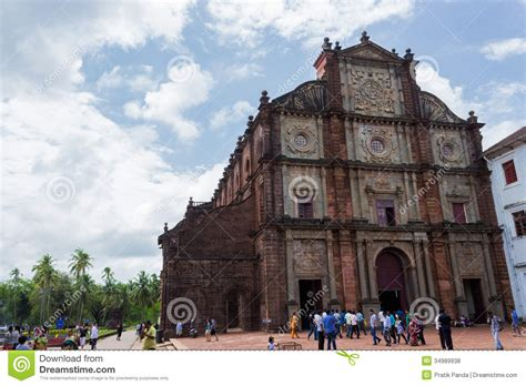 Good Churches Cleveland Ohio #2: Old-goa-famous-stone-church-building-one-asia-s-biggest-medieval-buildings-cathedrals-symbol-christianity-was-34989938.jpg