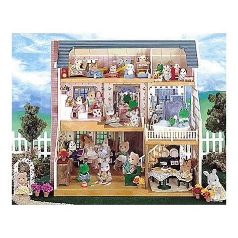 calico critters deluxe village house calico critters deluxe village house educational toys planet