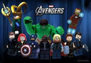 Custom lego avengers minifigures minifig customisation workshop
