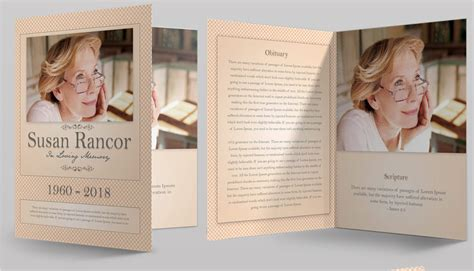 Amazing Funeral Program Booklet Templates Seraphimchris Graphic Design And Illustration Program Booklet Design Template