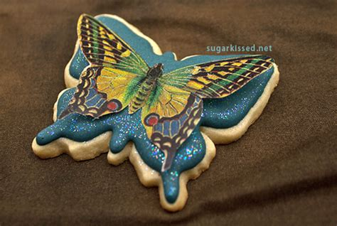 butterfly cookies made with wafer paper butterfly cookies made with wafer paper