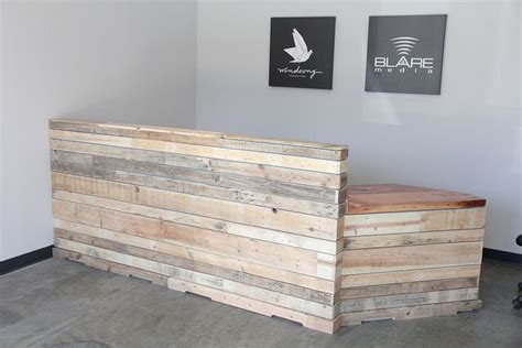 Reception Desk Wood Or This Industrial Wood Reception Desk Search Advanced Corporate