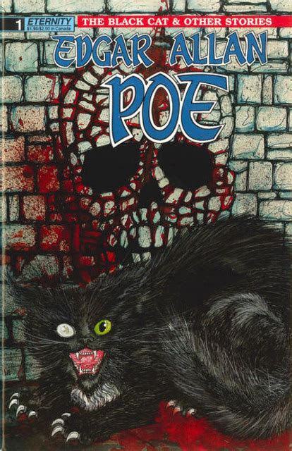 Black Catthe And Other Stories By Edgar Allan Poe edgar allan poe the black cat and other stories volume comic vine