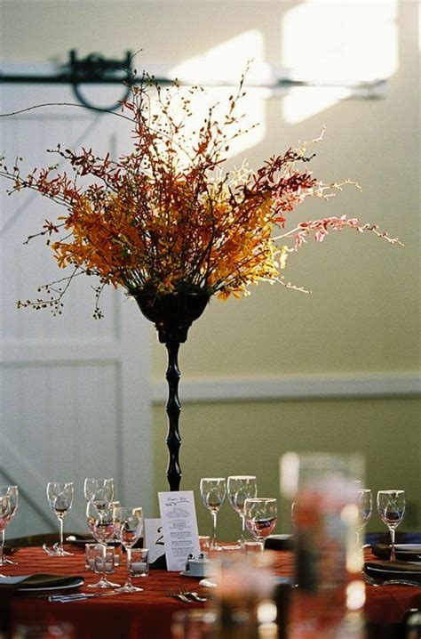 fall wedding table ideas photograph fall wedding centerpie