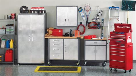 Canadian Tire Garage Storage Cabinets by How To Organize Your Garage Canadian Tire