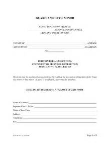 Temporary Guardianship Letter Template Free Best Photos Of Template Of Guardianship Of A Minor