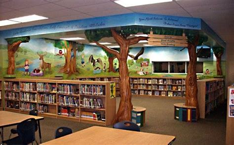 library decoration ideas elementary school library decorations jerry allen