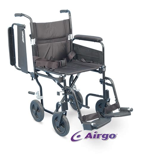 Airgo 174 Lightweight Comfort Plus Transport Chair 19