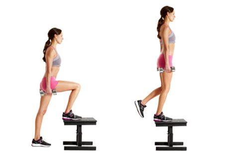 weighted bench step ups butt workouts our beautiful souls